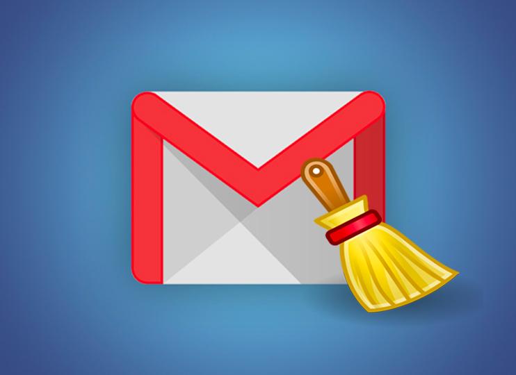 Gmail пошта, тазарту