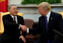 Н.Назарбаев пен Д.Трамп