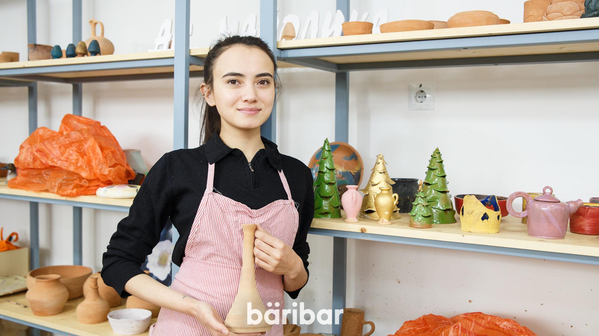 Қыш шебері Айдана Тұрмұхамбетова, Ақбота Балқыбек