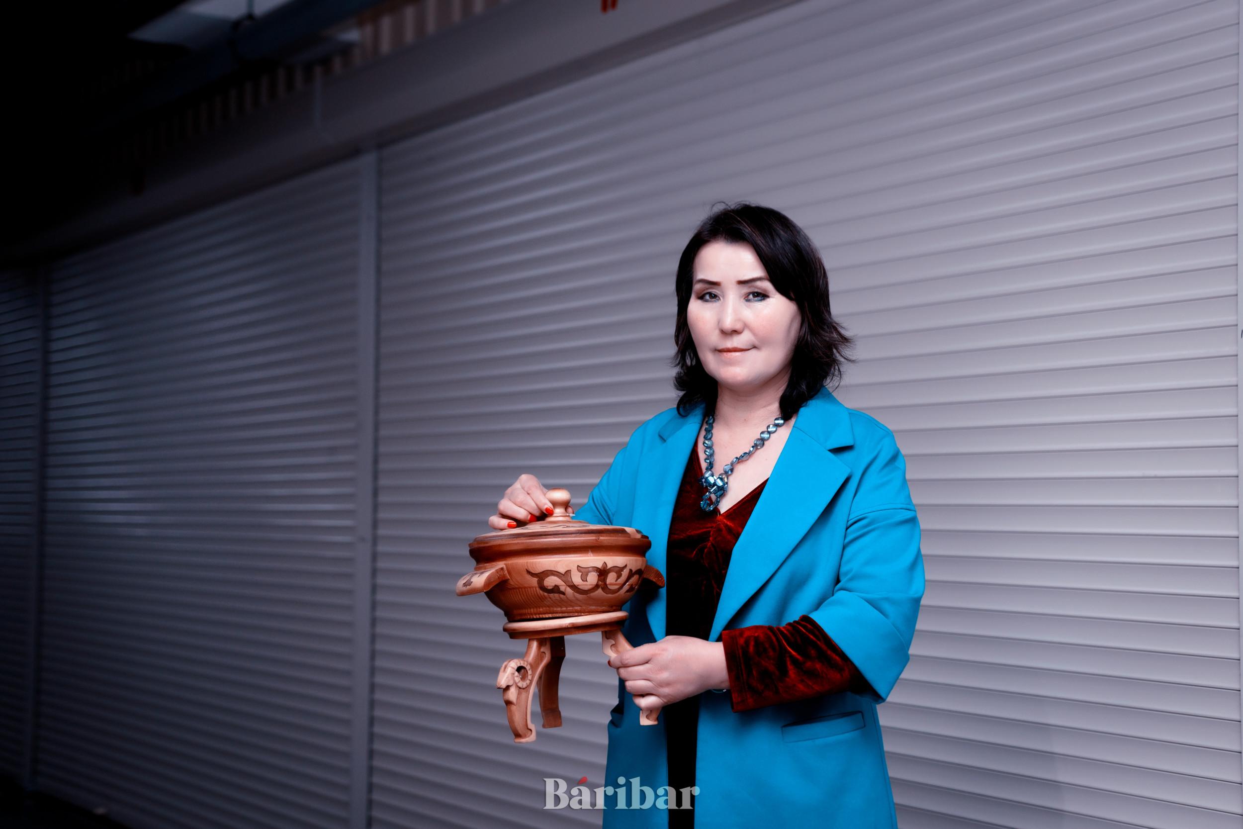 """Салтанат Өмірәлі, """"Ел-Мұра"""" серіктестігінің басшысы"""