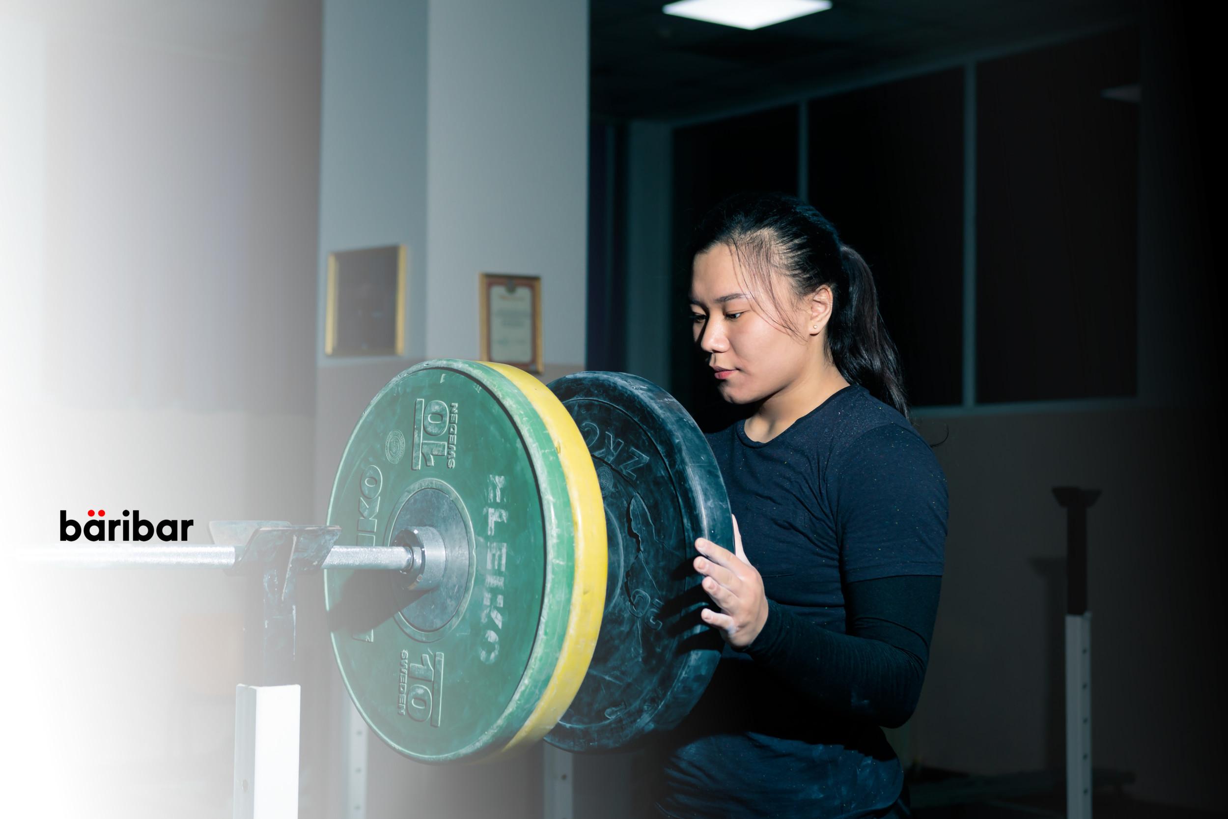 Нұрлыбекова Арай, ауыр атлетика