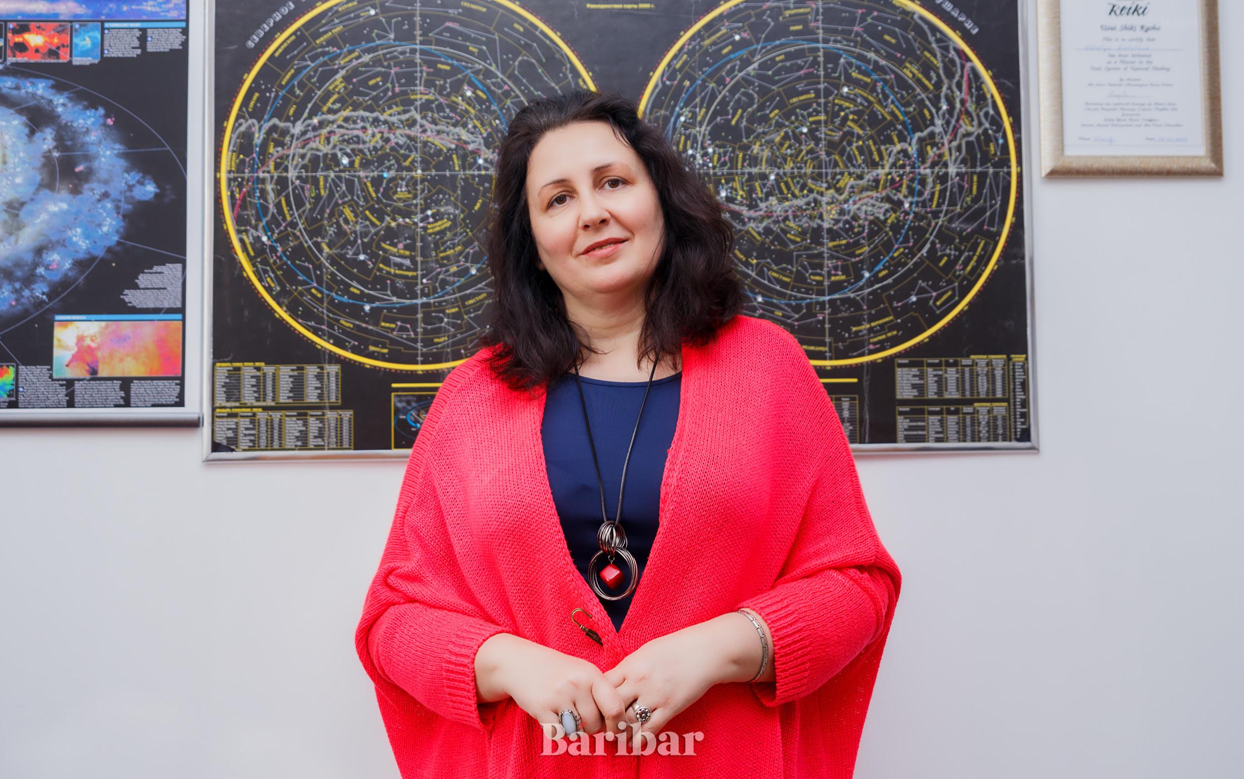 Астролог Катерина (Марга Прамода)
