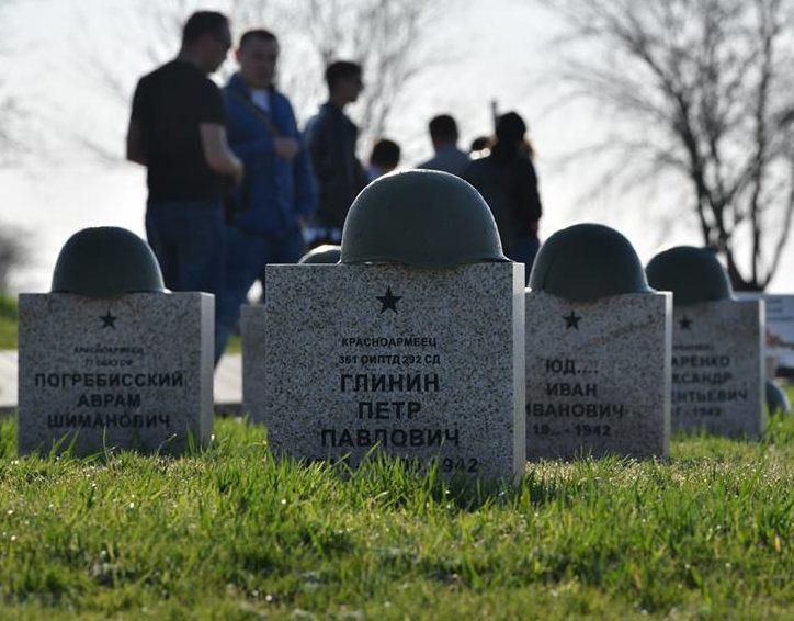 Сталинград шайқасында қаза тапқан сарбаздардың қабірі
