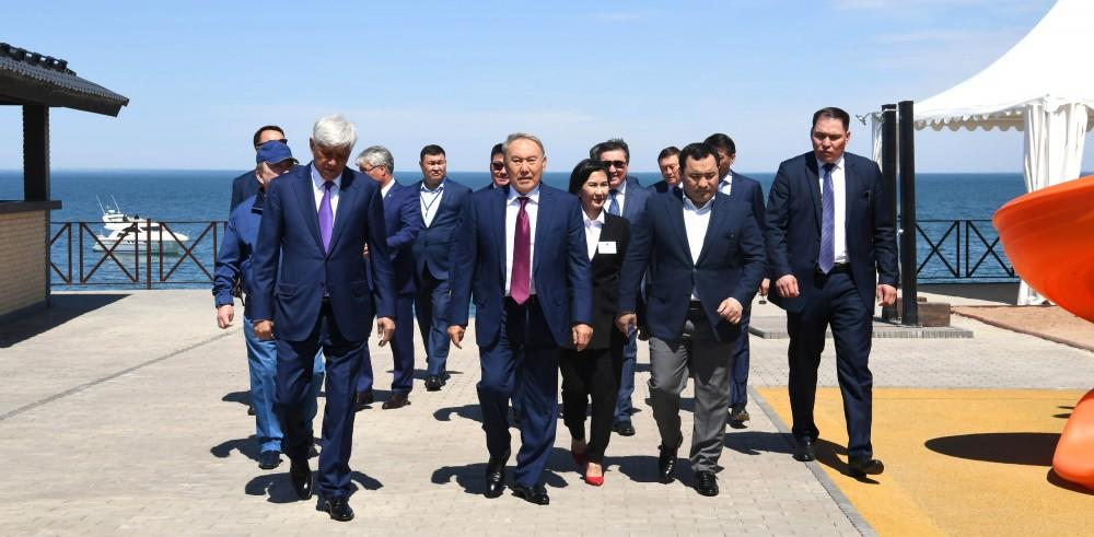 Нұрсұлтан Назарбаев, Алматы облысы