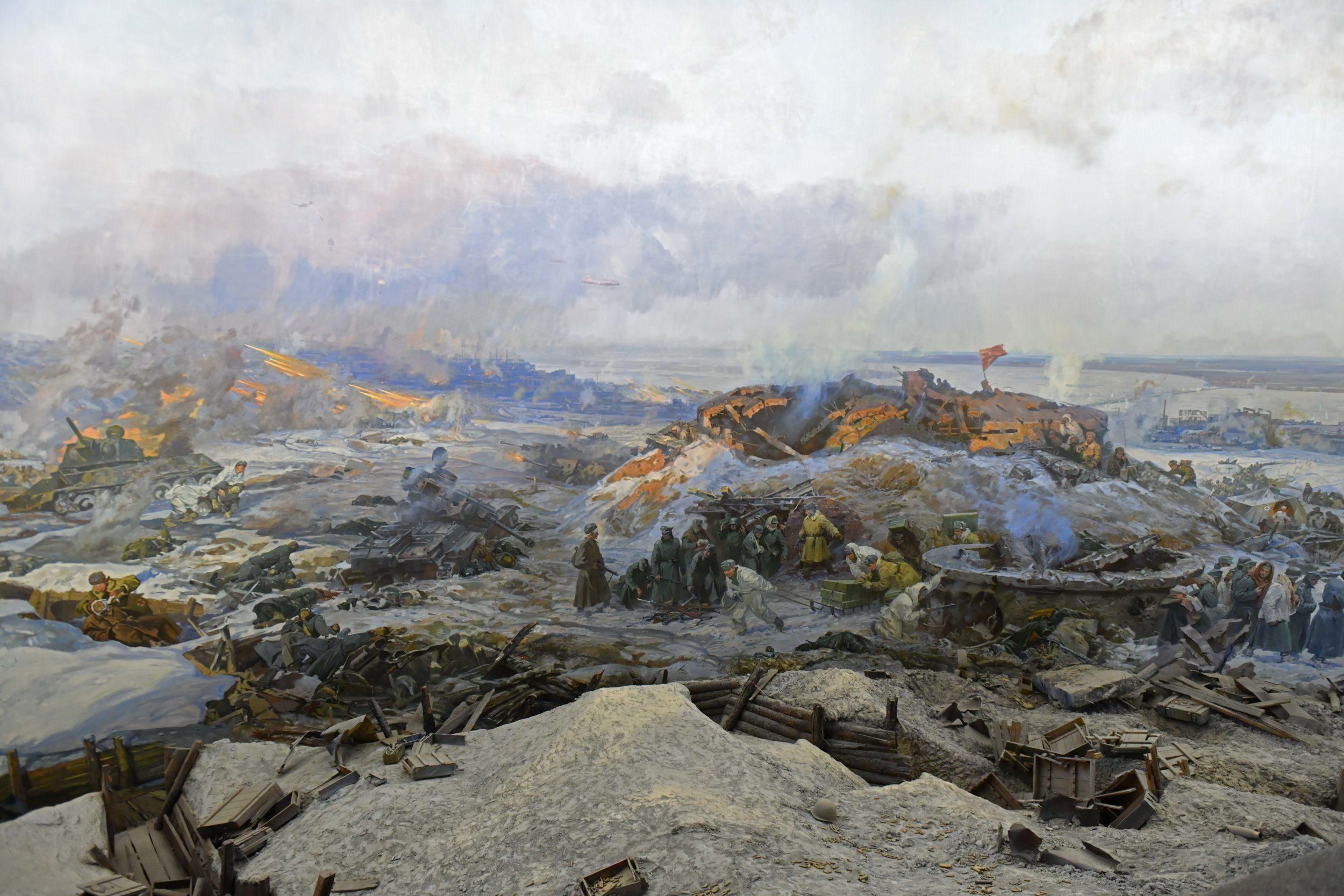 """""""Сталинград шайқасы"""" музей-панорамасы"""