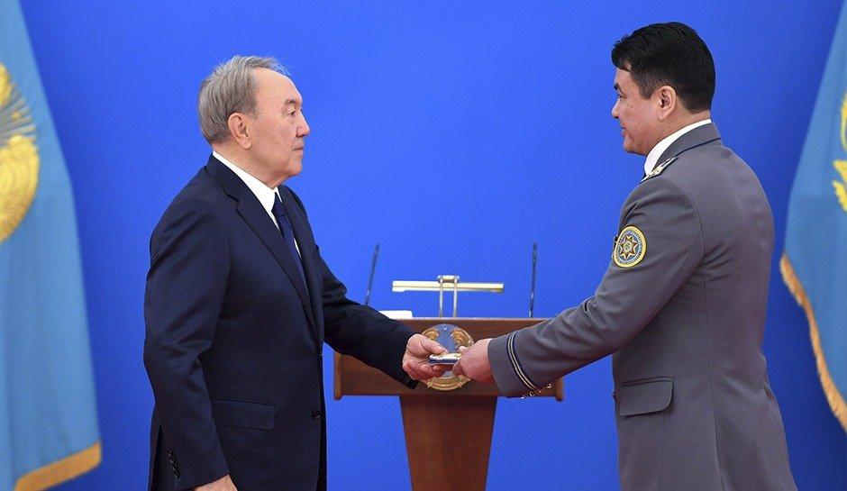Нұрсұлтан Назарбаев генерал