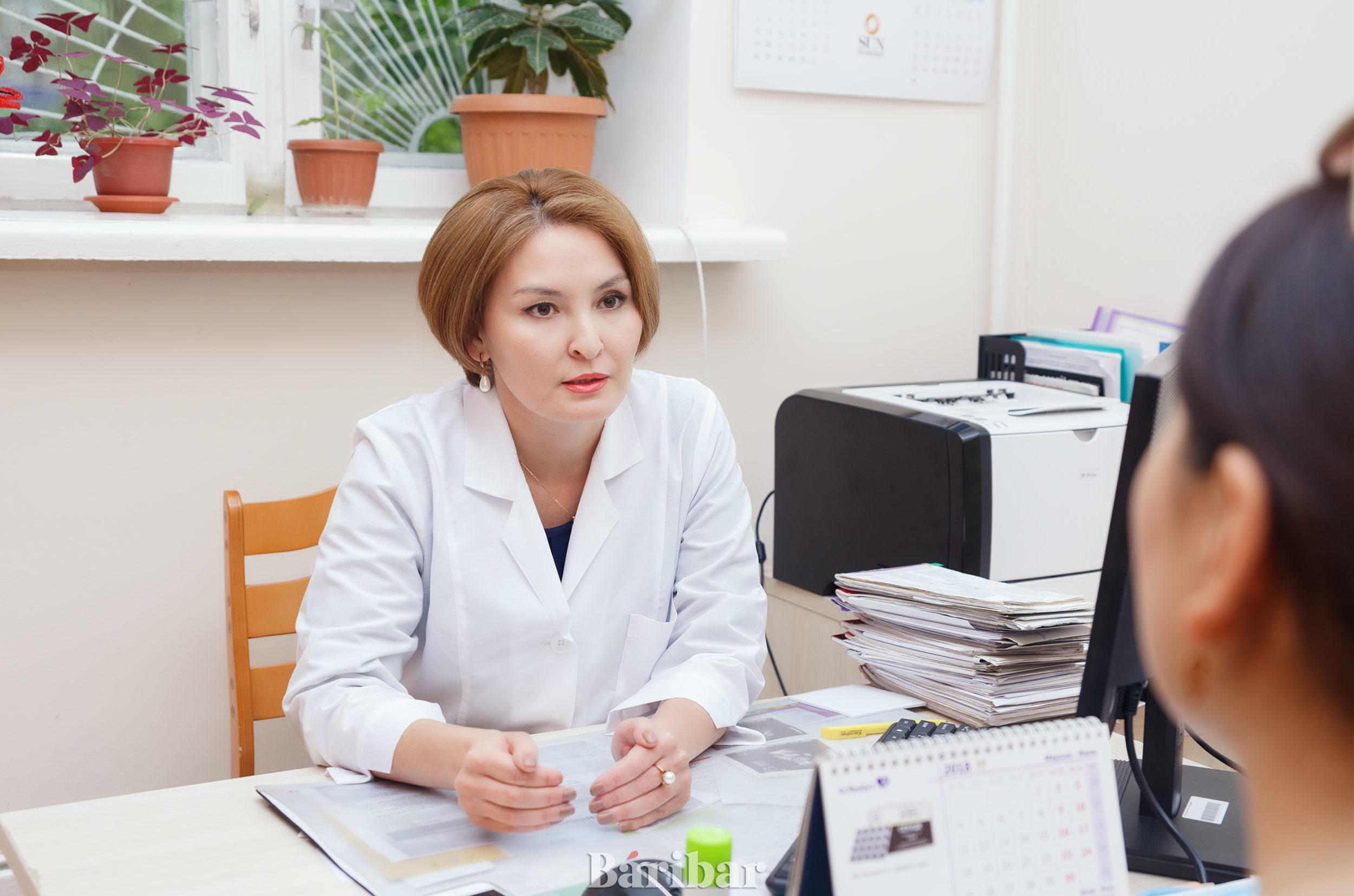 Акушер-гинеколог Мұстапаева Әсел Елшібайқызы