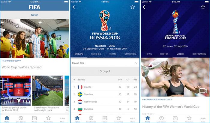 FIFA 2018, Ресми мобильді қосымша