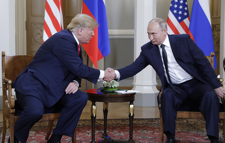 Трамп пен Путин