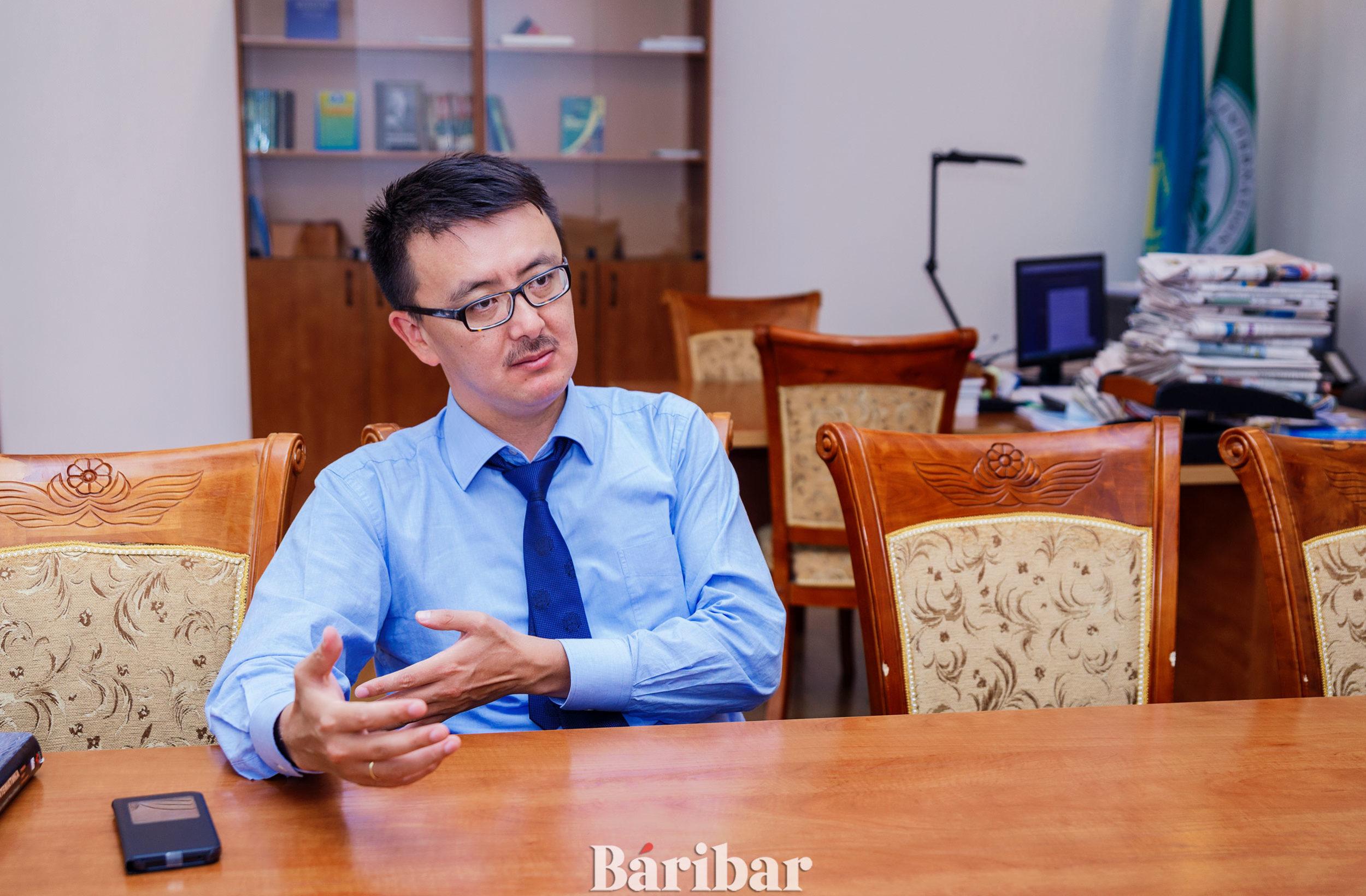 Дархан Ахмед-Заки, UIB Президенті