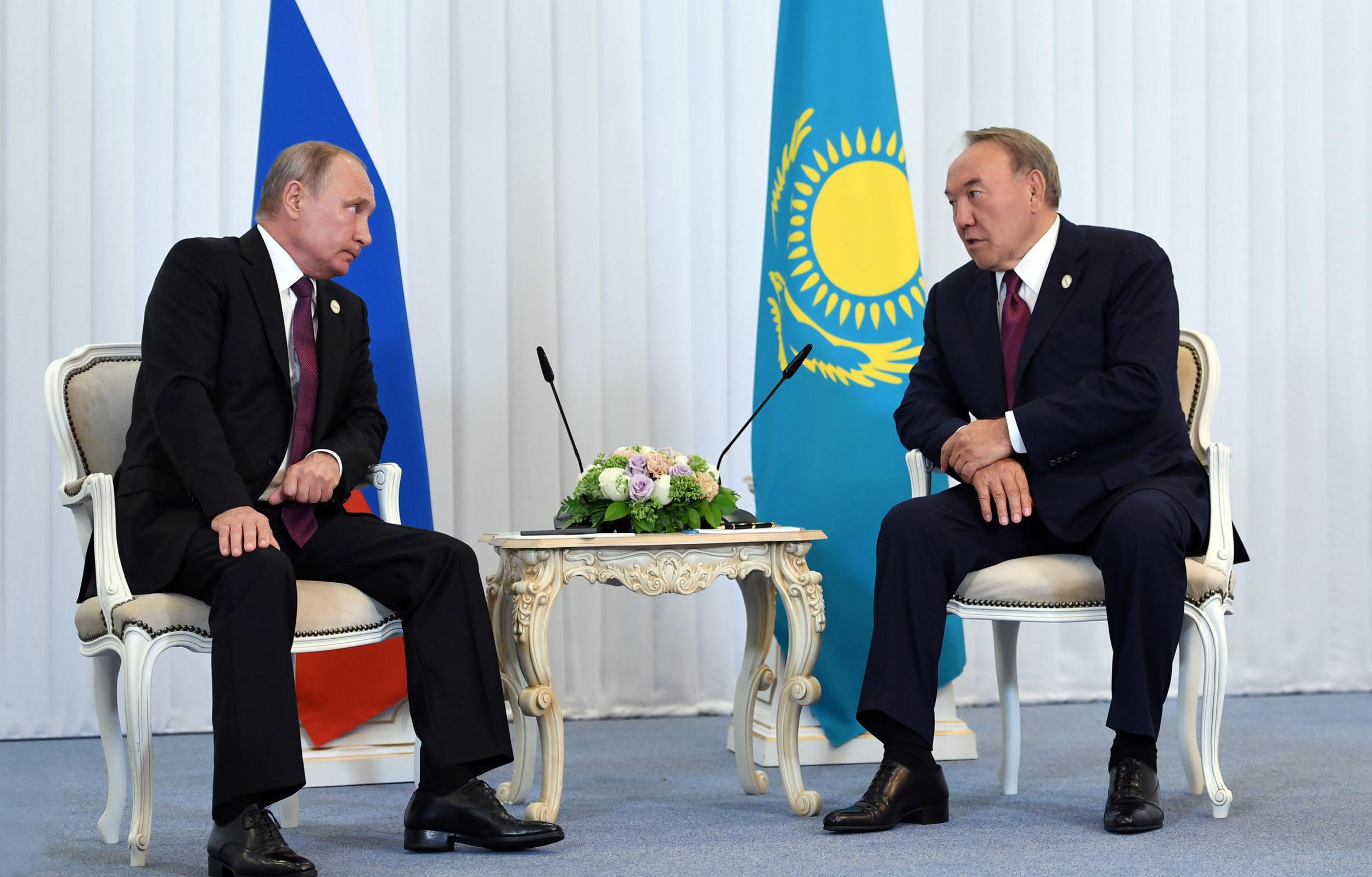 Путин мен Назарбаев