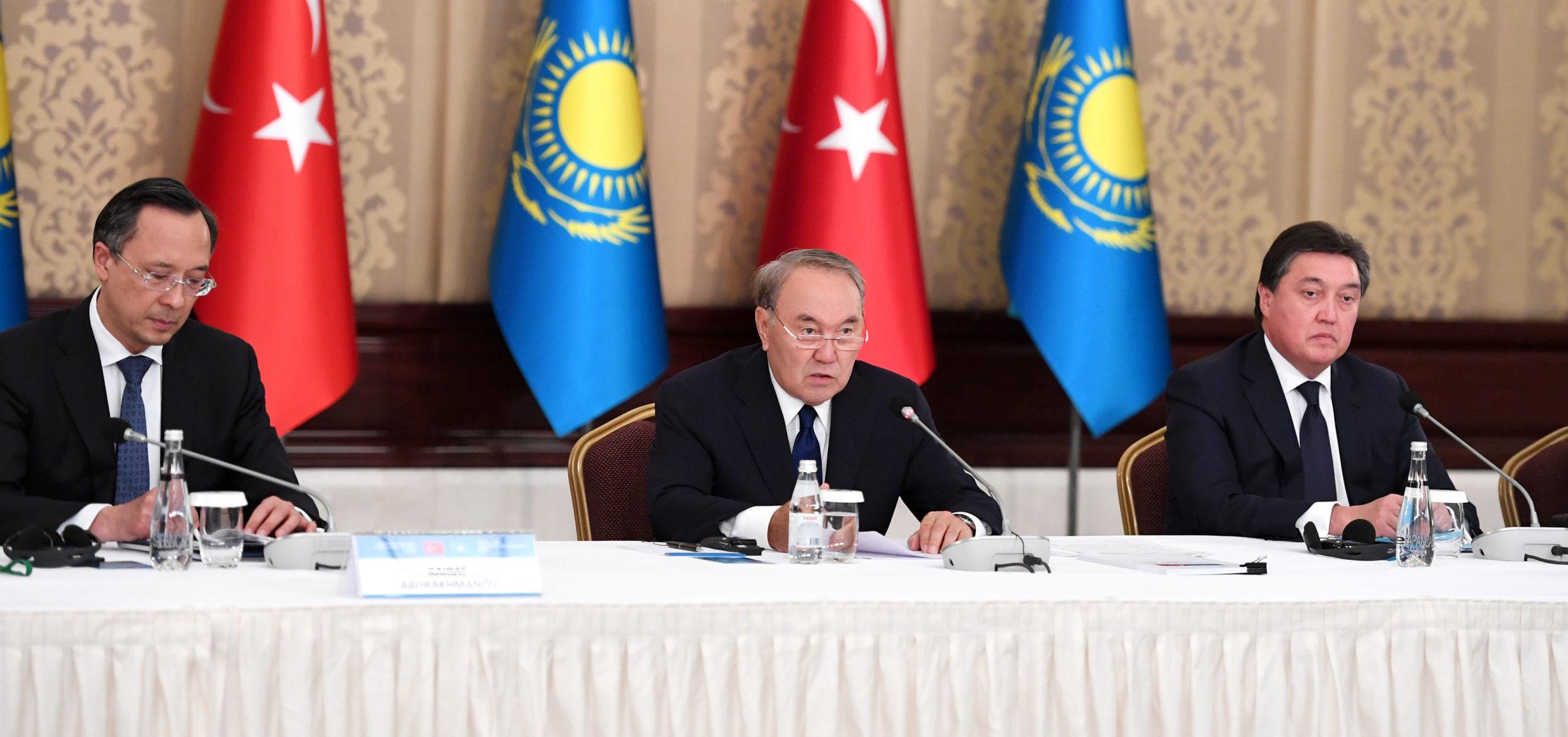 Назарбаев Түркияда