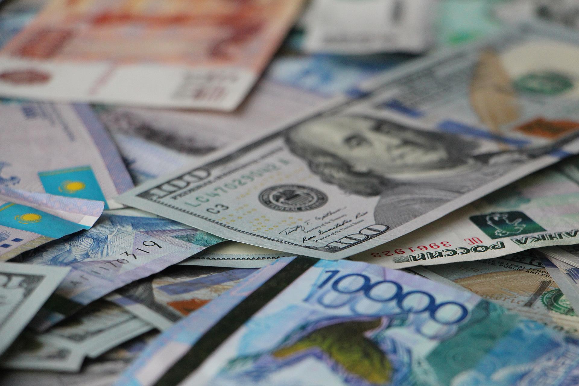 Доллар теңге валюта ақша