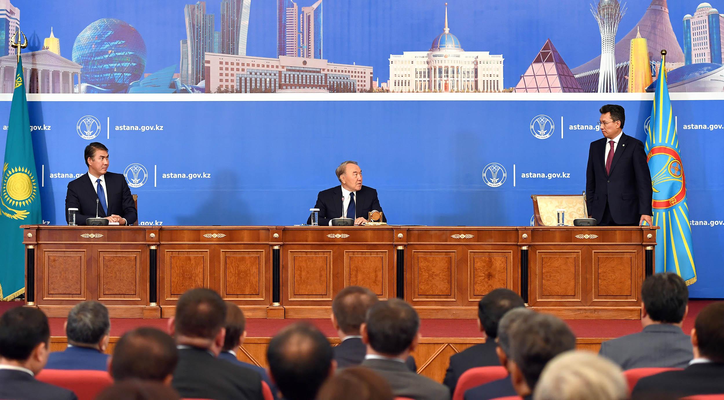 Президент пен Астана әкімі