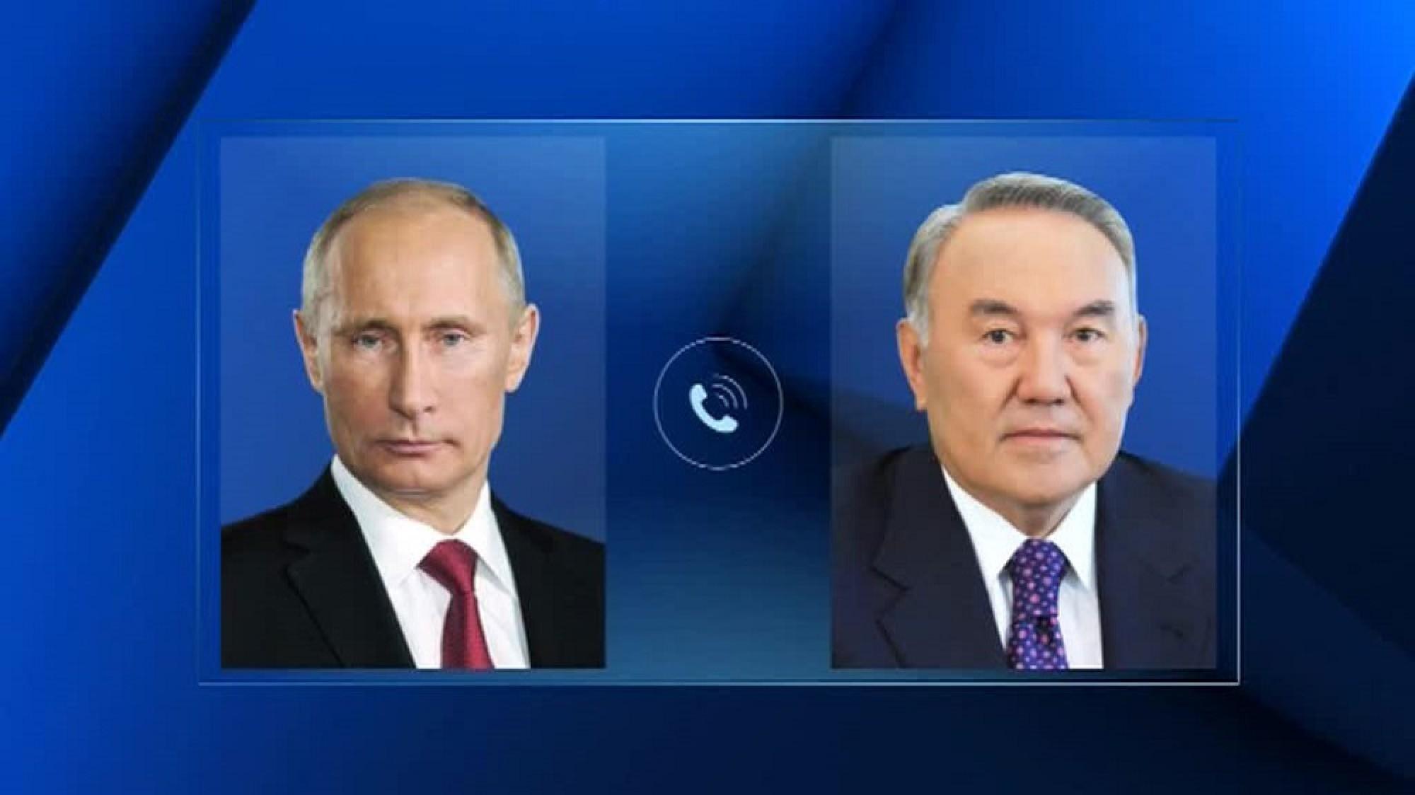 Путин, Нұрсұлтан Назарбаев