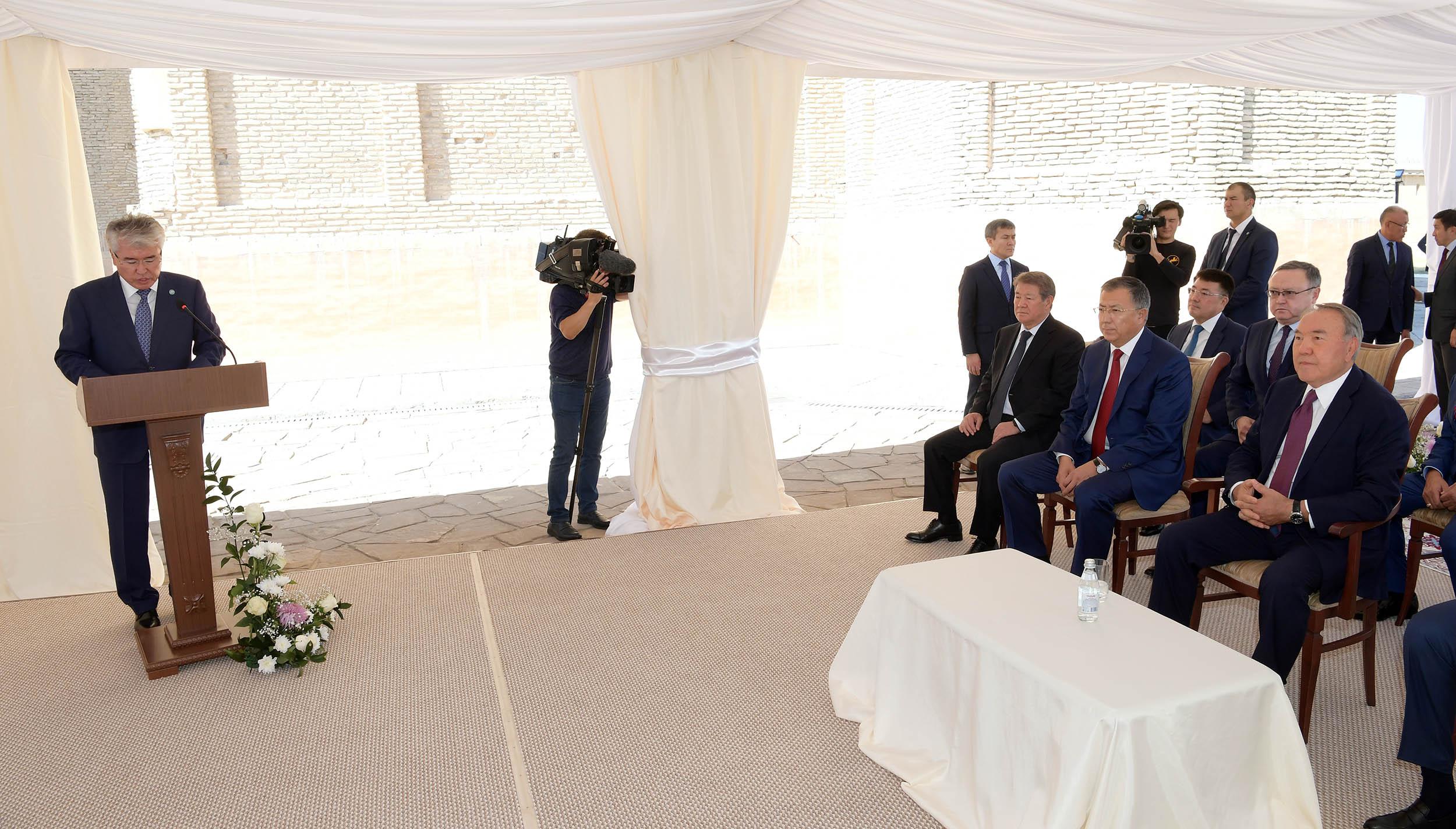 Назарбаевтың Түркістанға сапары