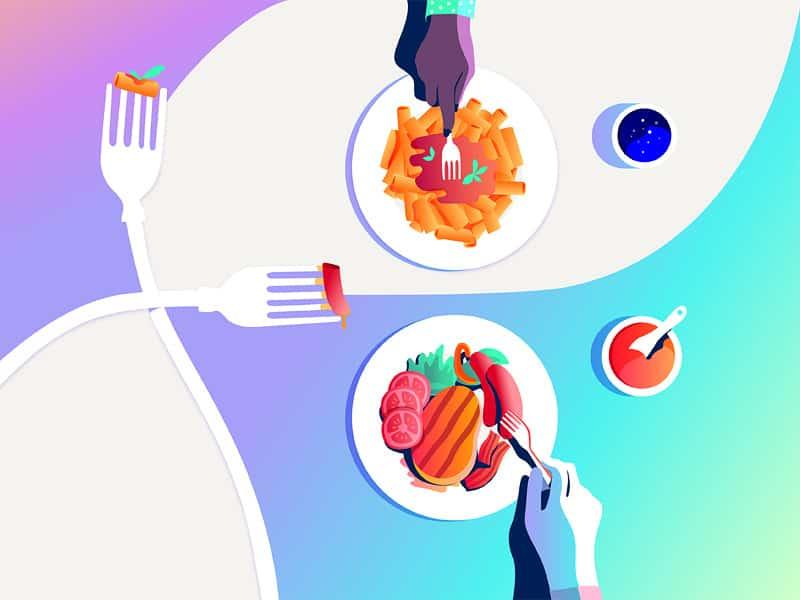 Тағам, диета, артық салмақ