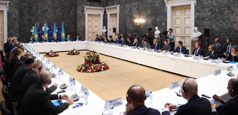 Назарбаев Бельгияда
