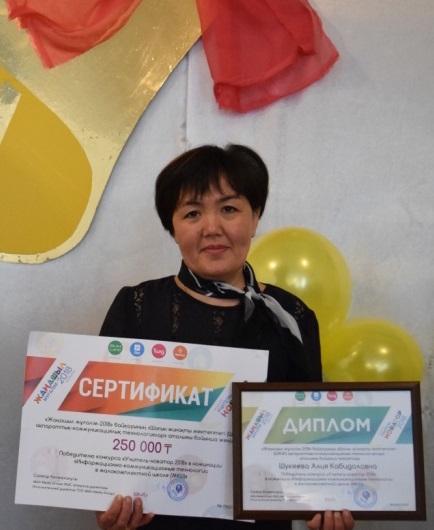 Әлия Шүкеева