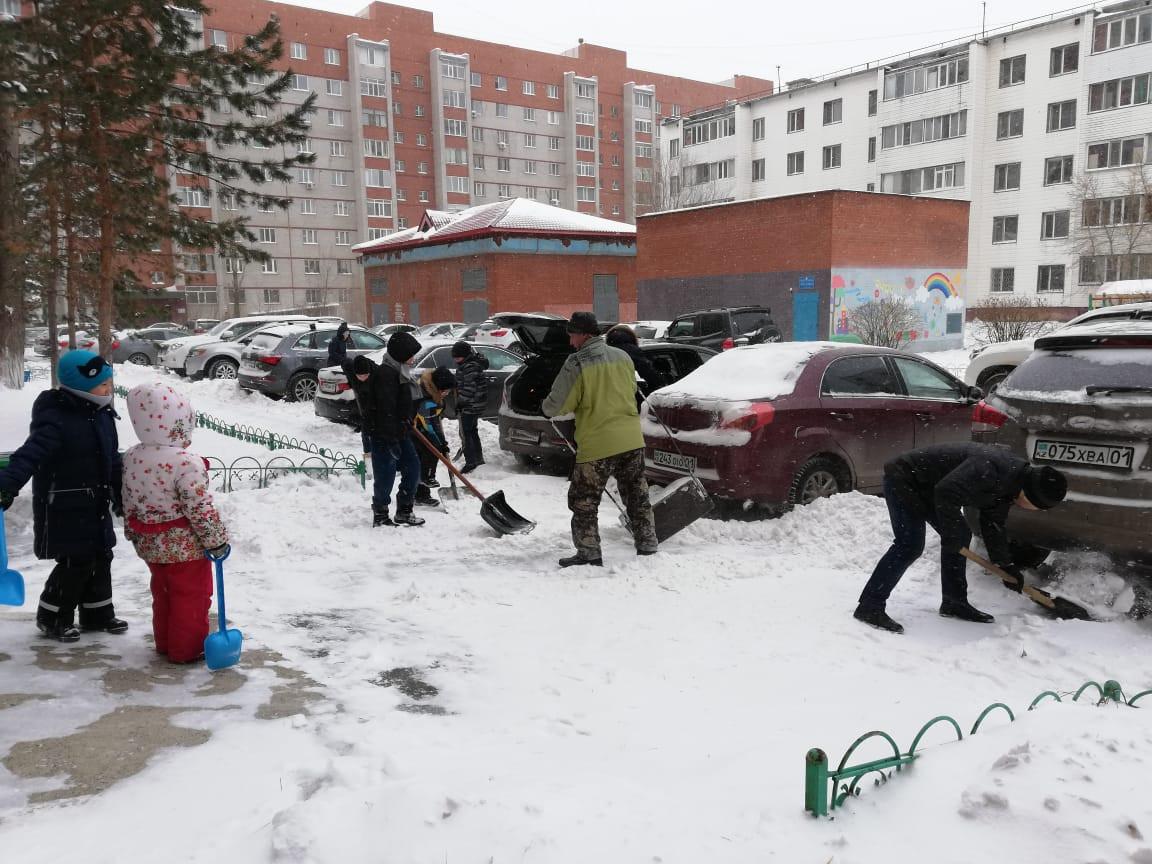 Астана қар