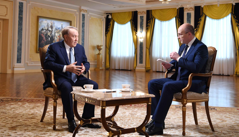 Назарбаев сұхбат