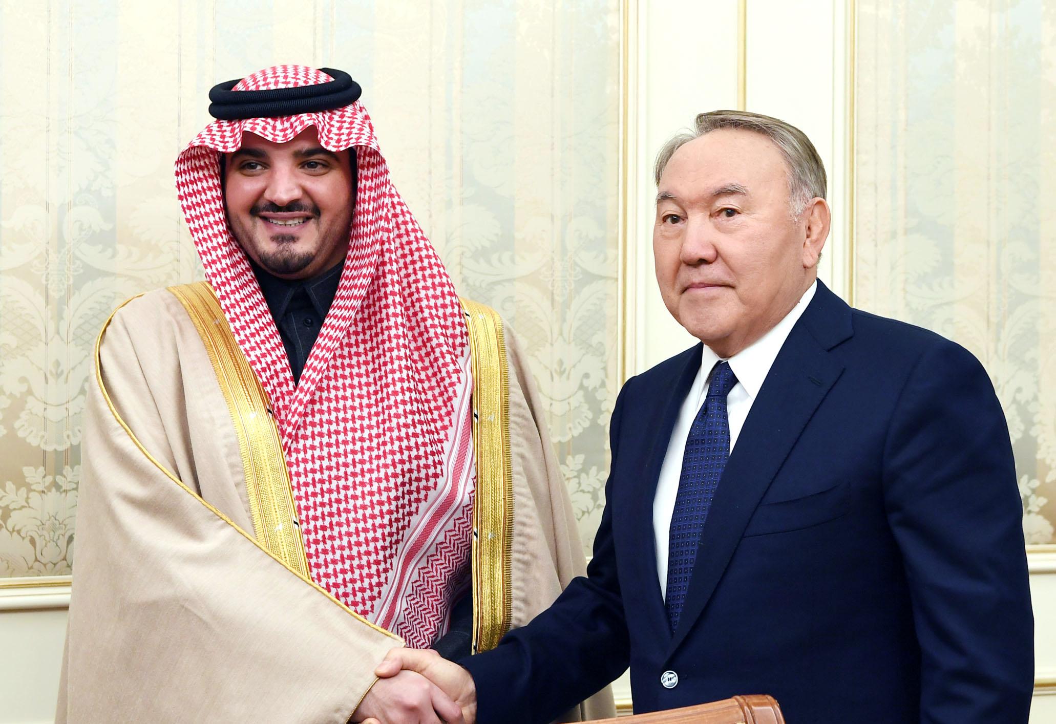 Назарбаев пен Әбдел Әзиз бен Сауд бен Наиф