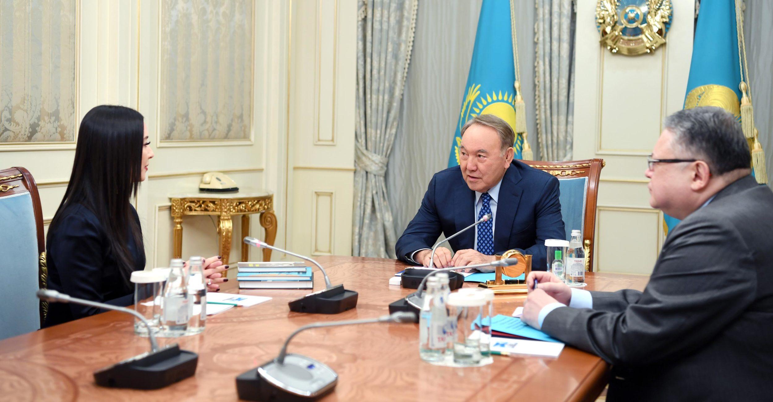 Нұрсұлтан Назарбаев Дінзухра Тілендиева