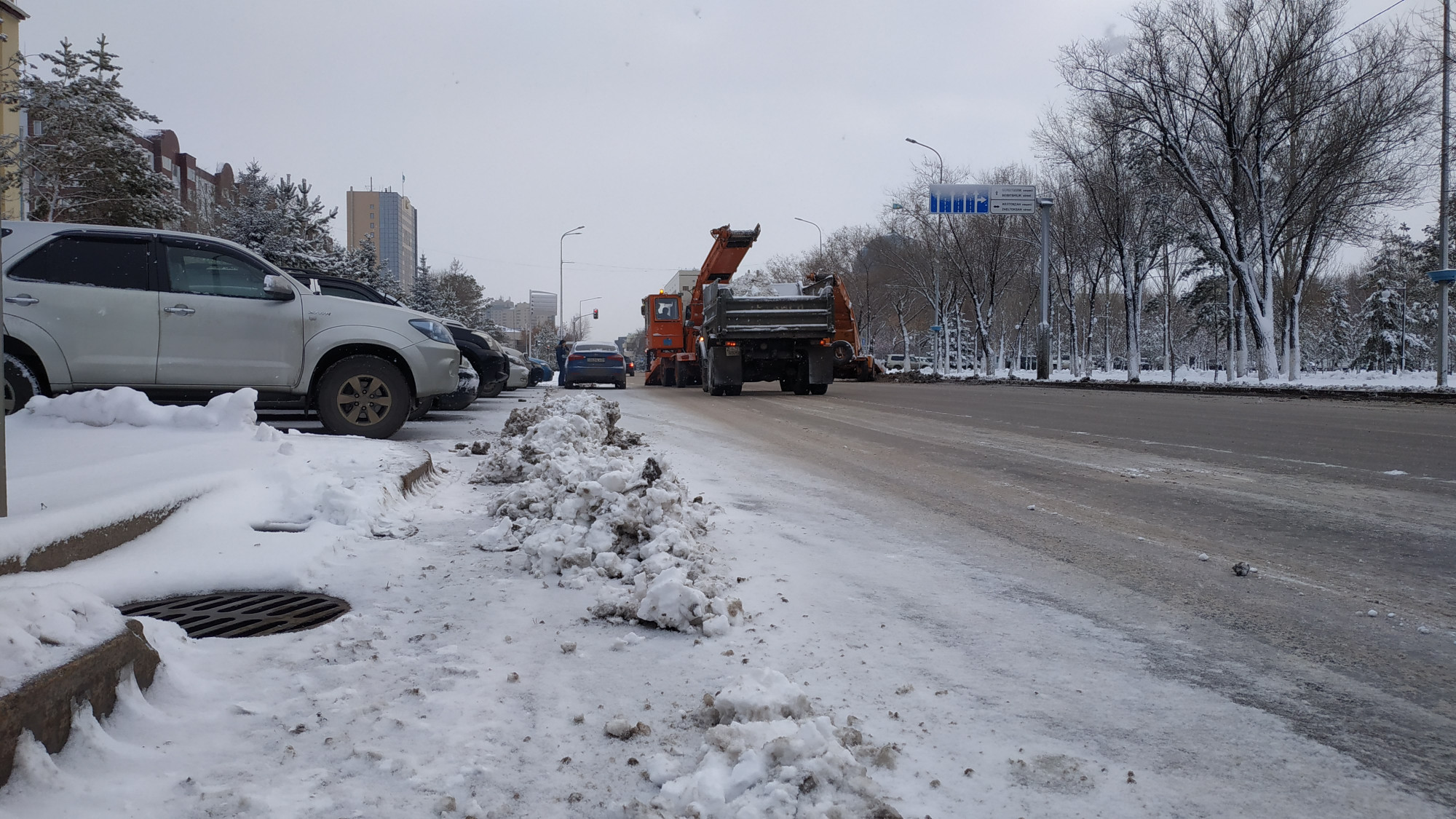 Қар тазалау Астана