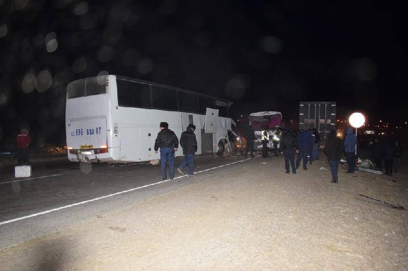 Автобус апаты, Қызылорда облысы