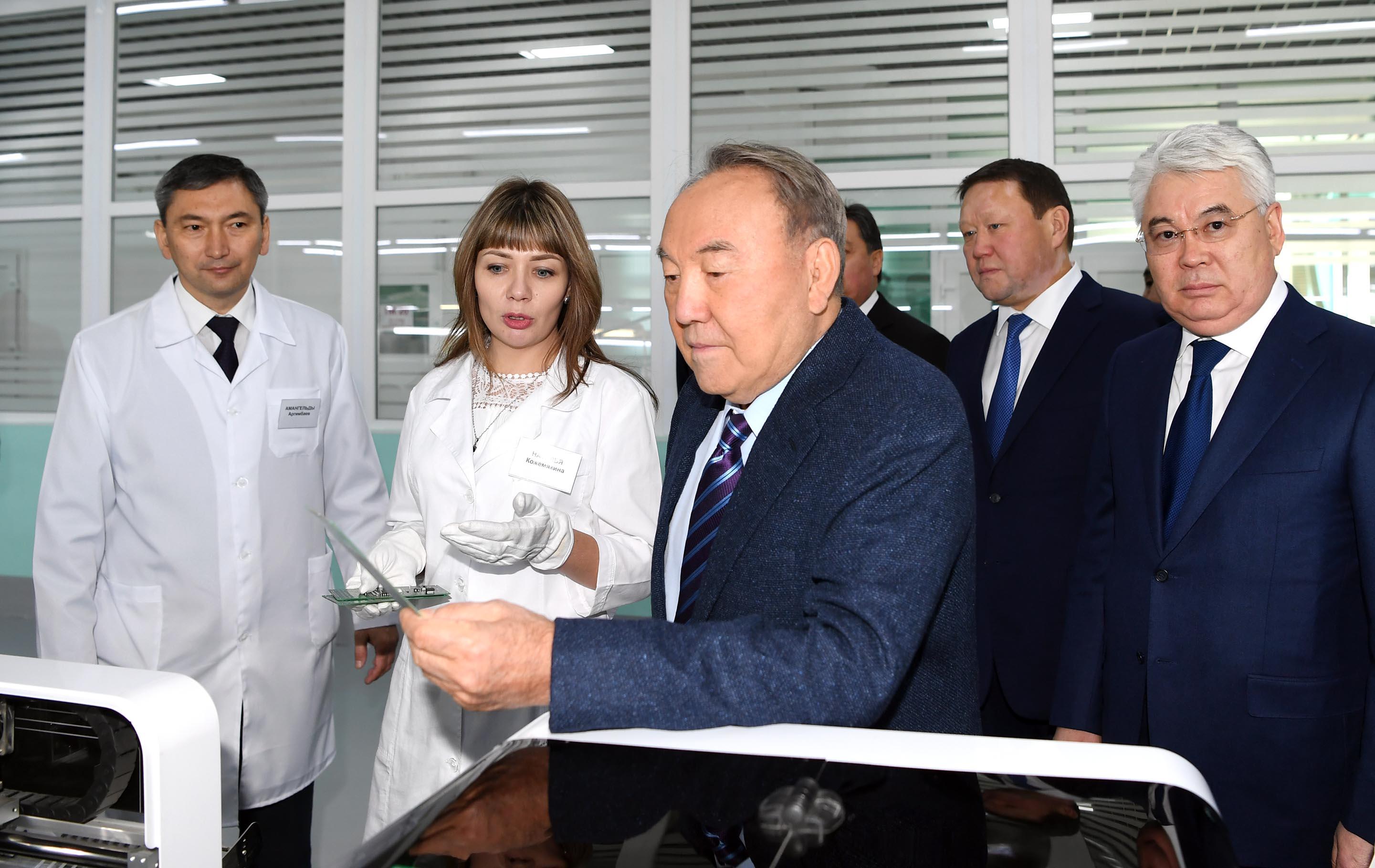 Назарбаев Петропавлда