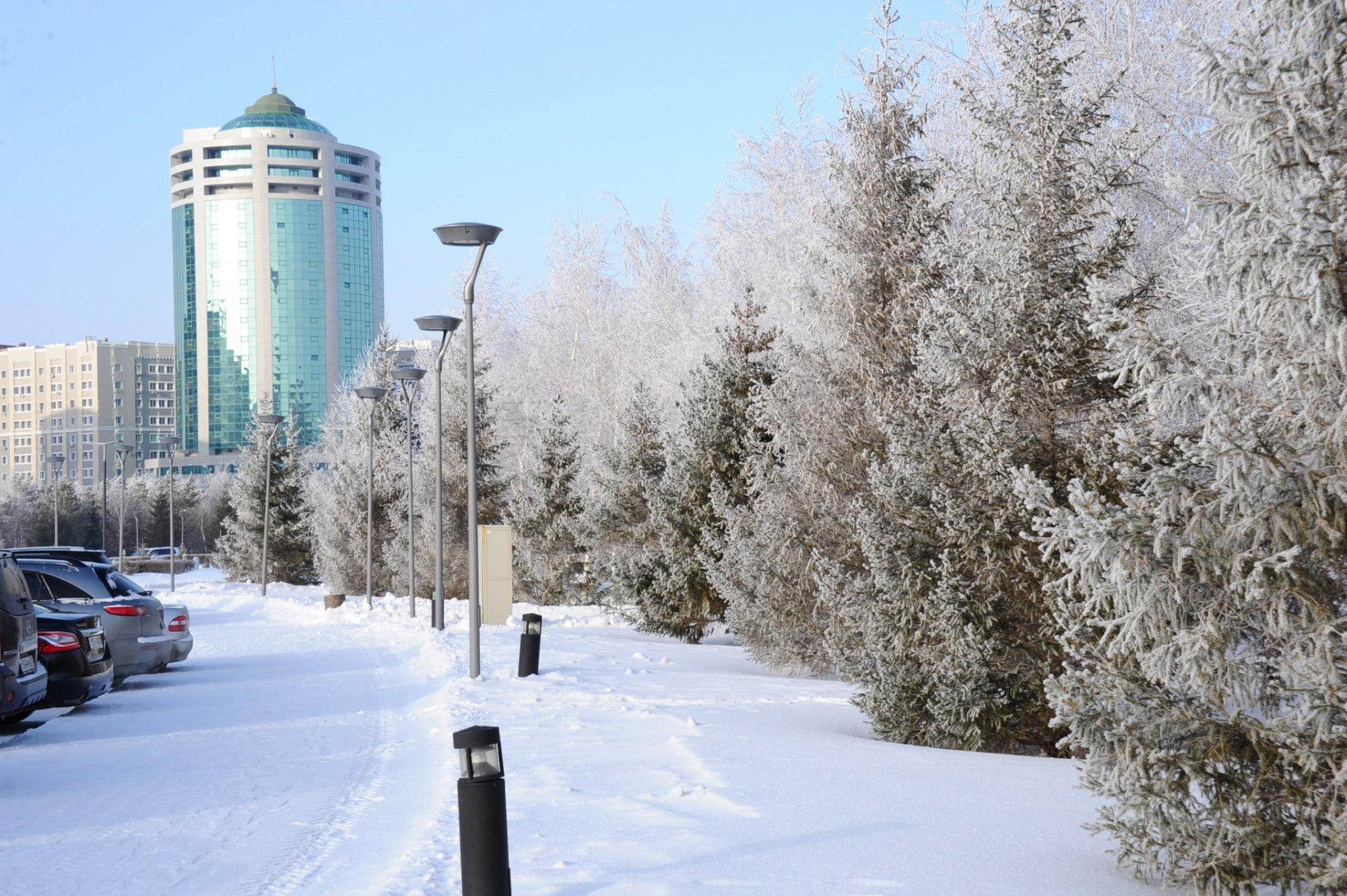 Аяз Астана ауа райы қыс