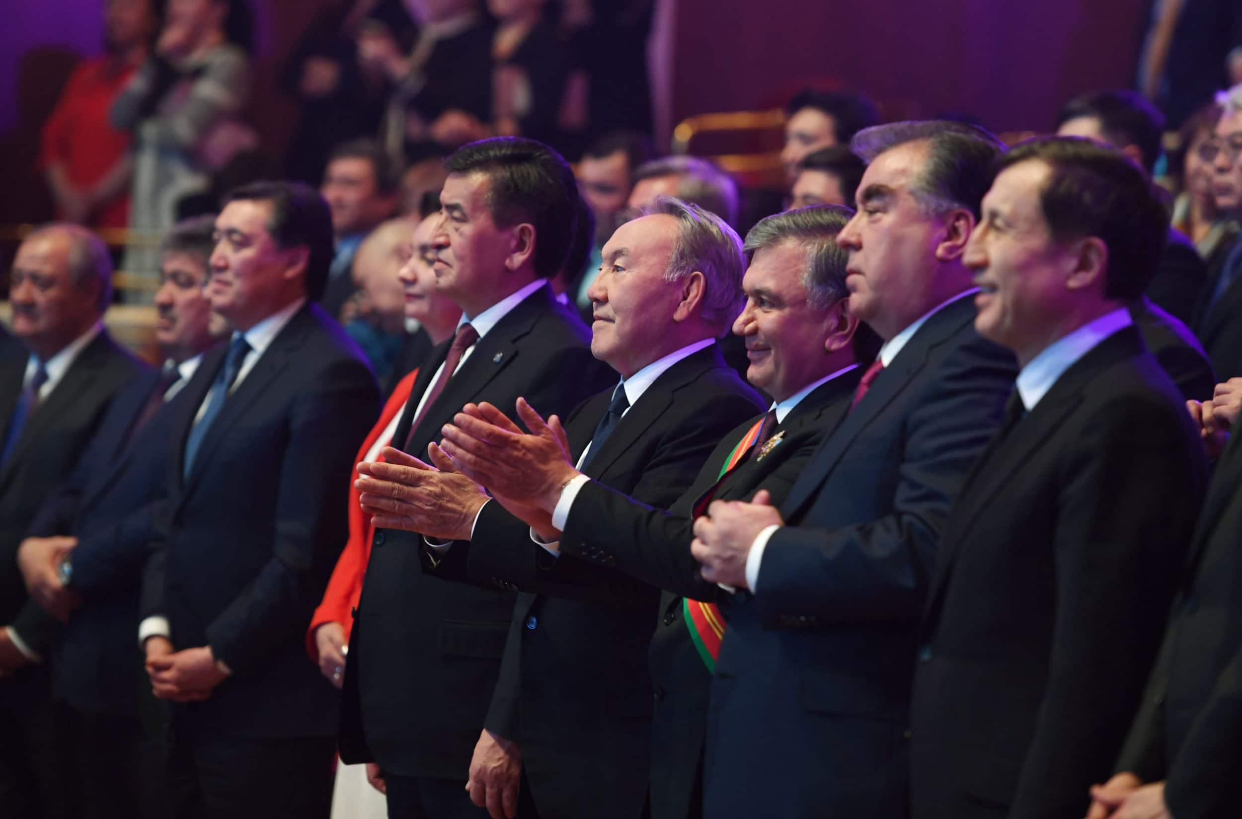 Тәжікстан, Өзбекстан, Қырғызстан