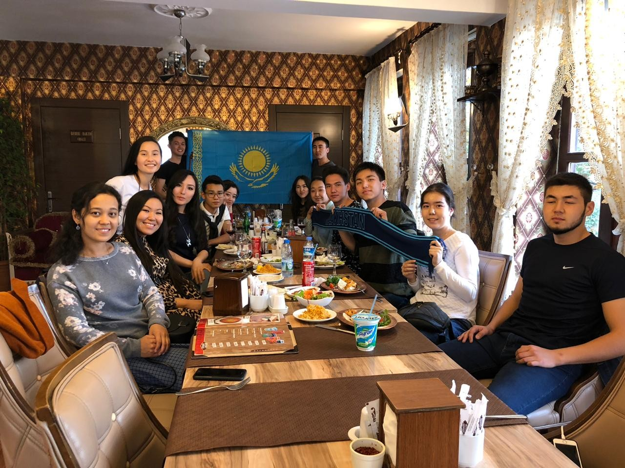 Шетелдегі қазақ жастары