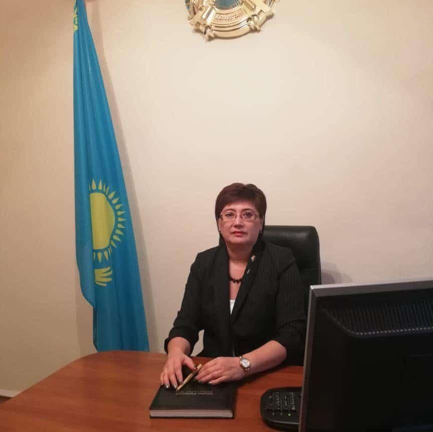 Аймекен Бақтығалиева