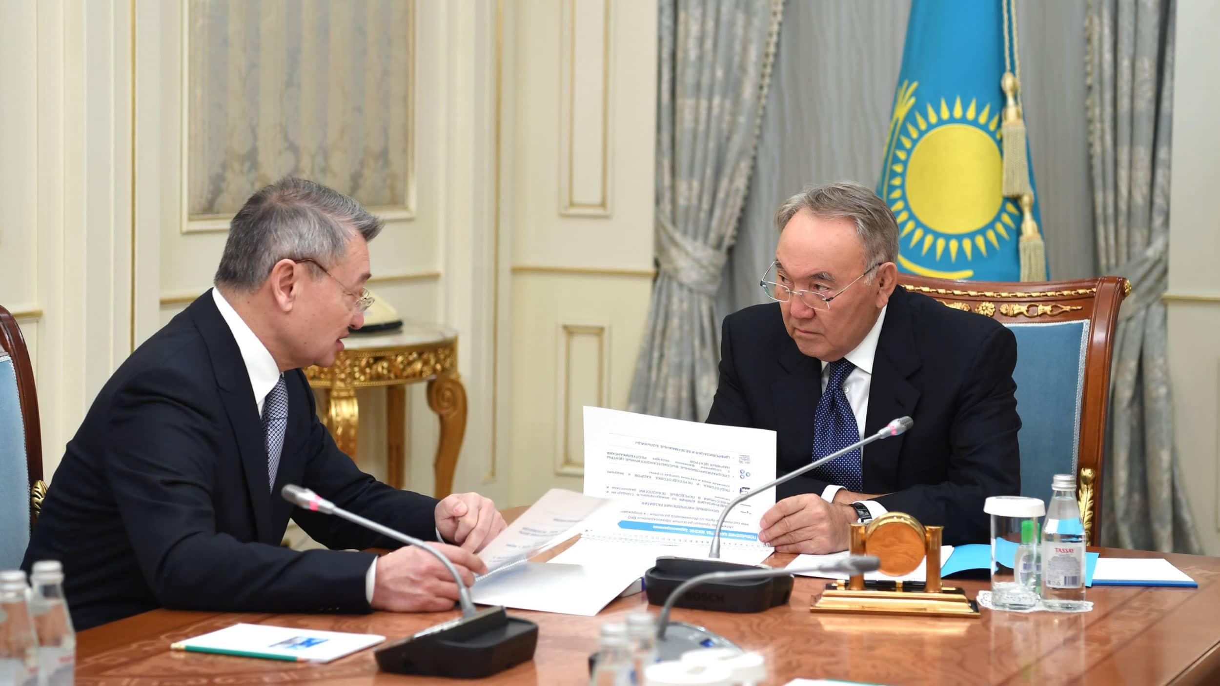 Даниал Ахметов Нұрсұлтан Назарбаев