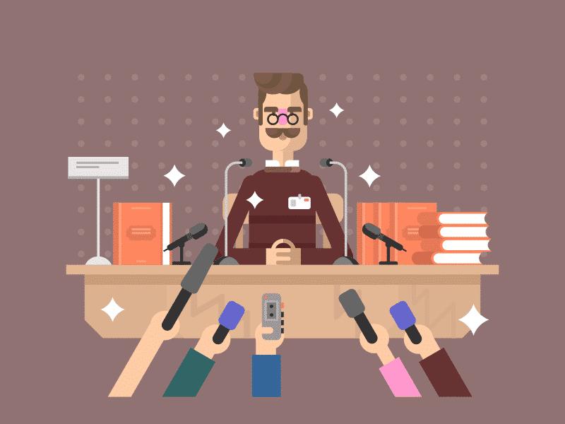 БАҚ, журналист, микрофон