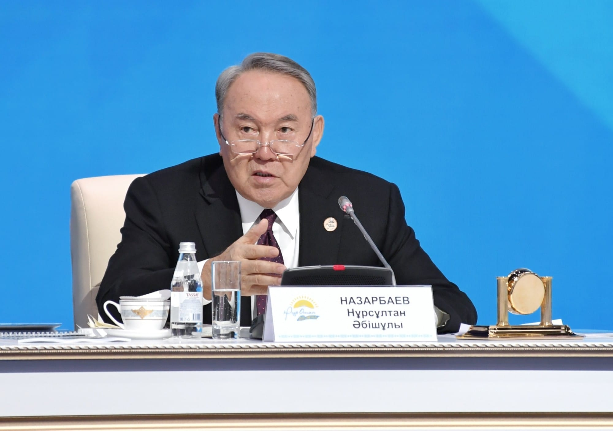 Нұрсұлтан Назарбаев съезд