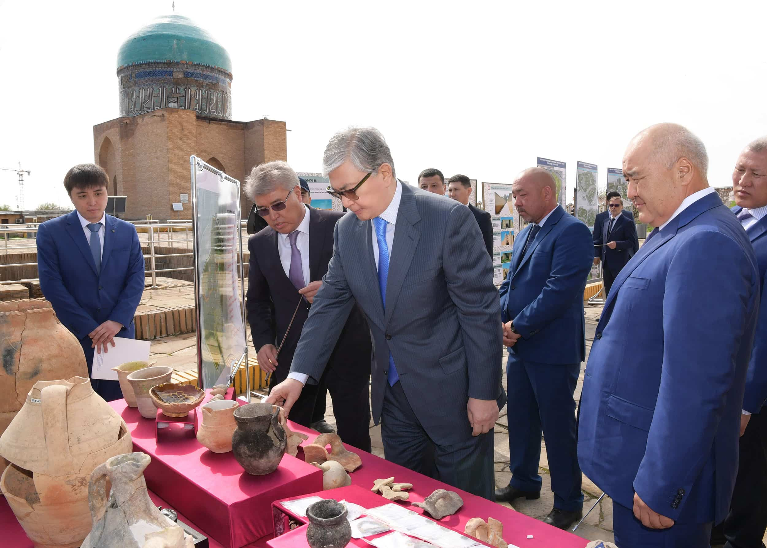 Қасым-Жомарт Тоқаевтың Түркістанға сапары