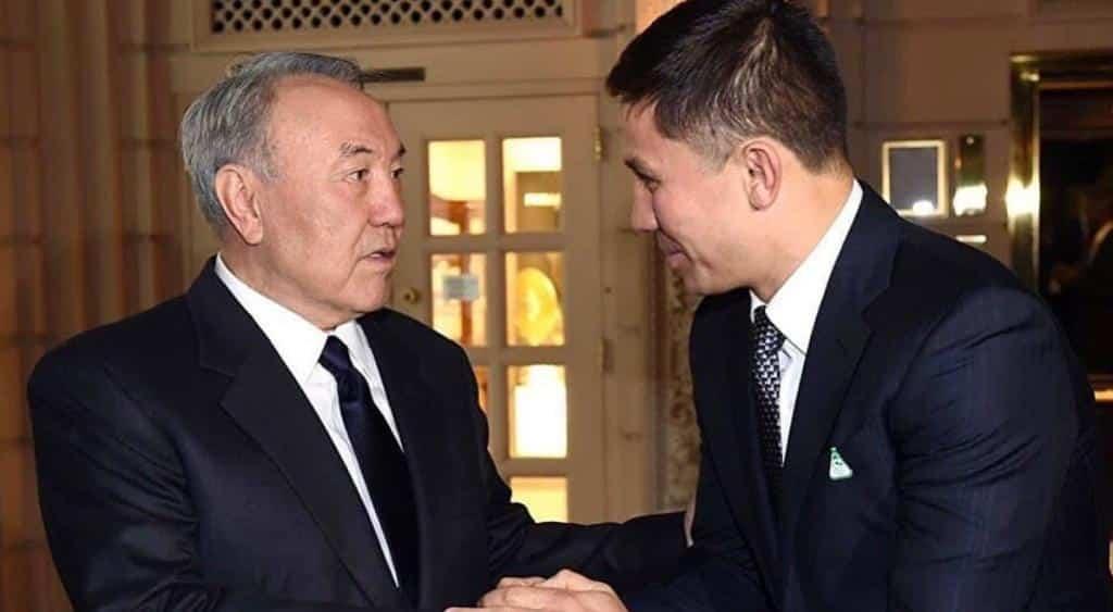 Геннадий Головкин, Нұрсұлтан Назарбаев