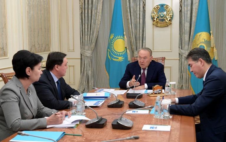 Назарбаевтың төрағалығымен әлеуметтік саясатты іске асыру мәселелері жөнінде кеңес өтті