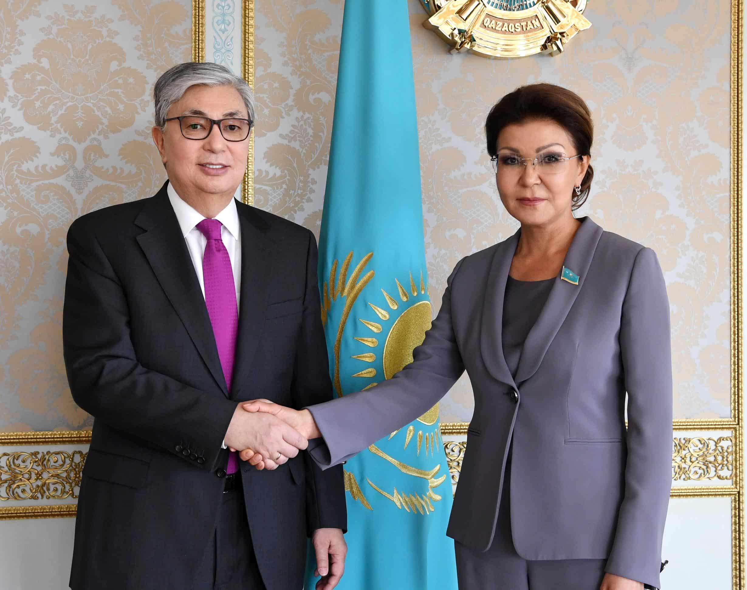 Қасым-Жомарт Тоқаев пен Дариға Назарбаева Сенат спикерін сайлаудан соң