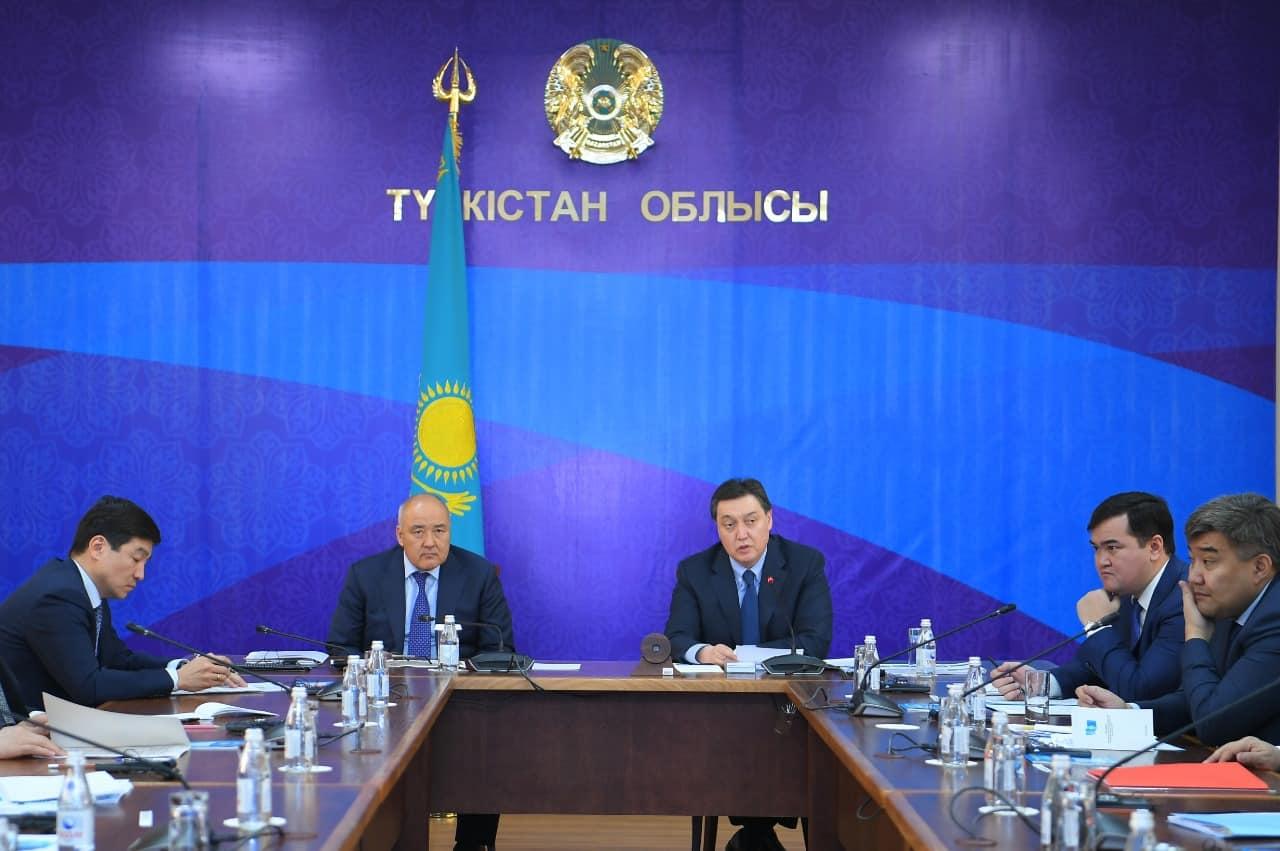 Түркістан облысы Асқар Мамин