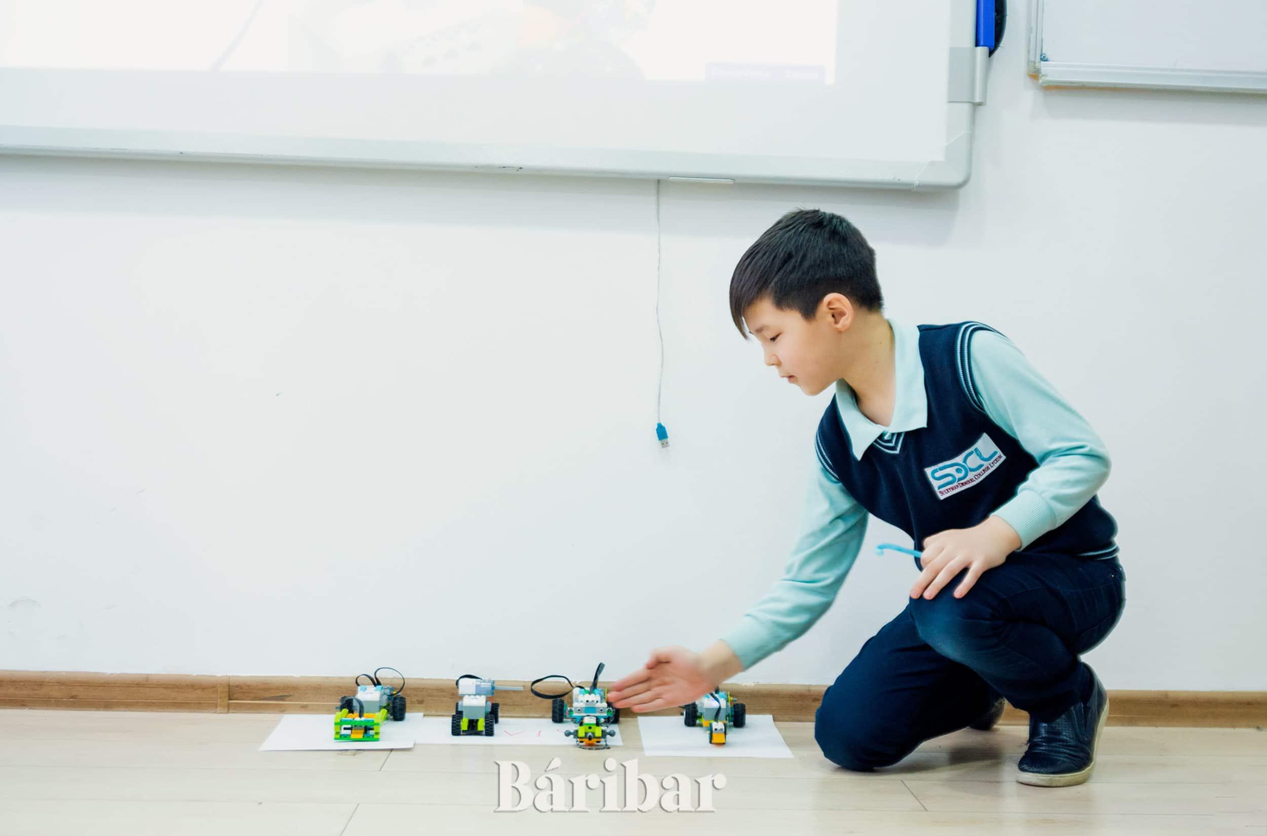 робототехника, оқушы