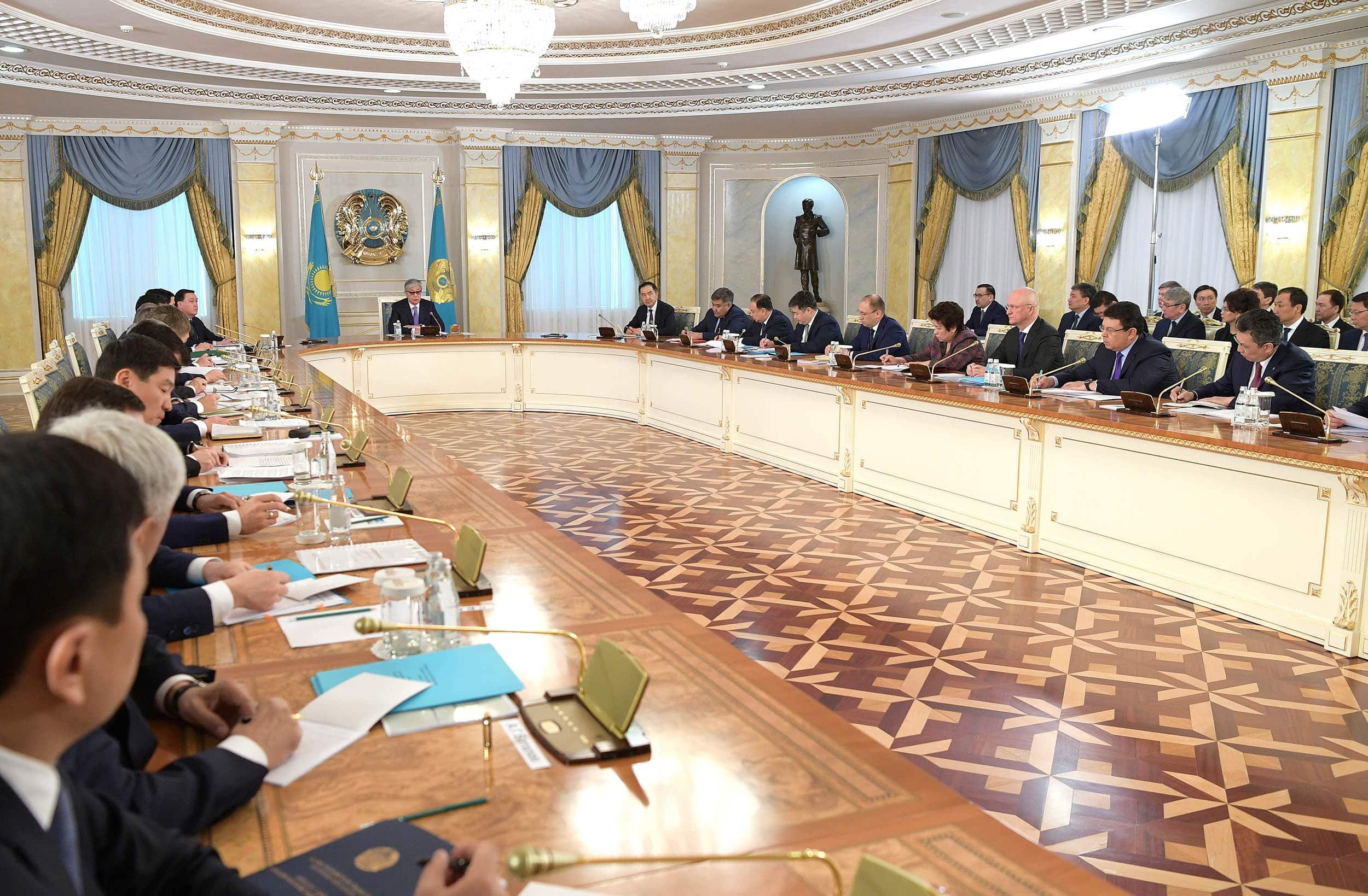 Қасым-Жомарт Тоқаевтың төрағалығымен өткен кеңес