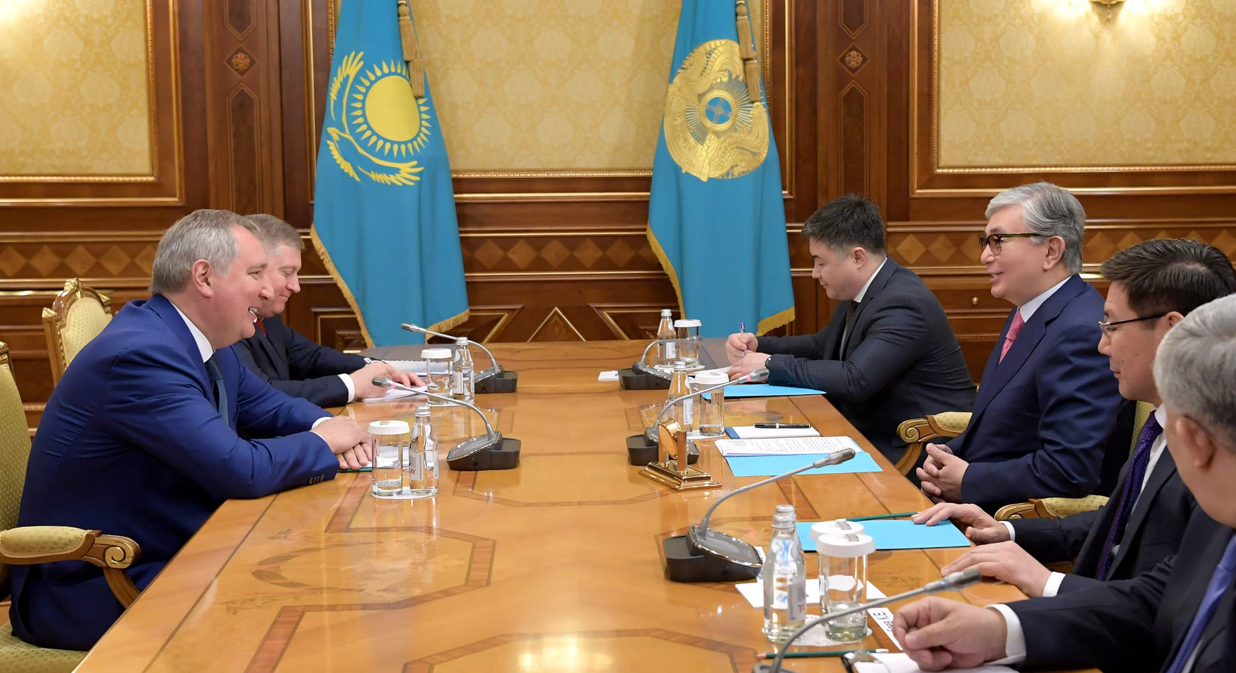 Қасым-Жомарт Тоқаев Дмитрий Рогозинмен кездесті