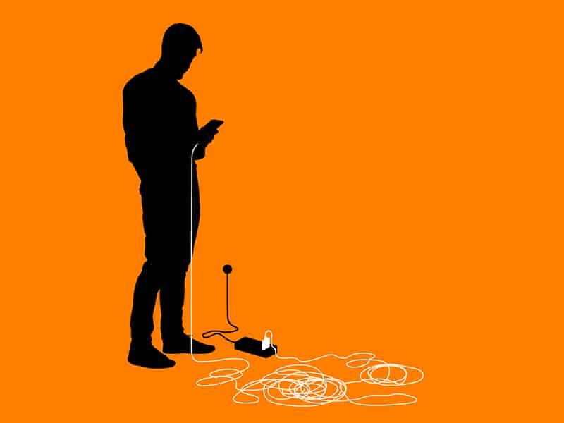 заряд телефон