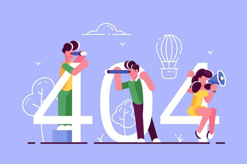 Интернет 404 қате