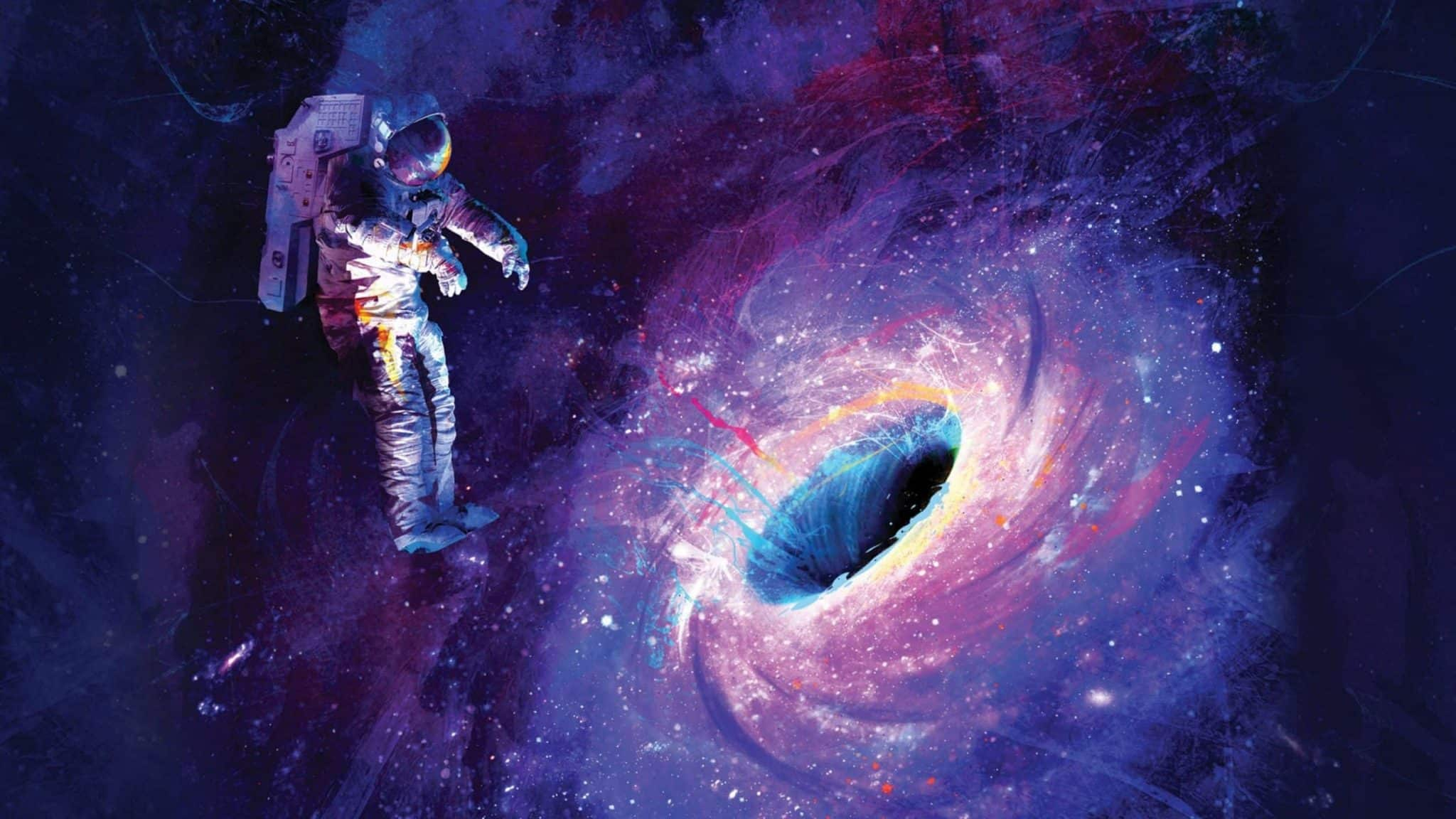 галактика черная дыра