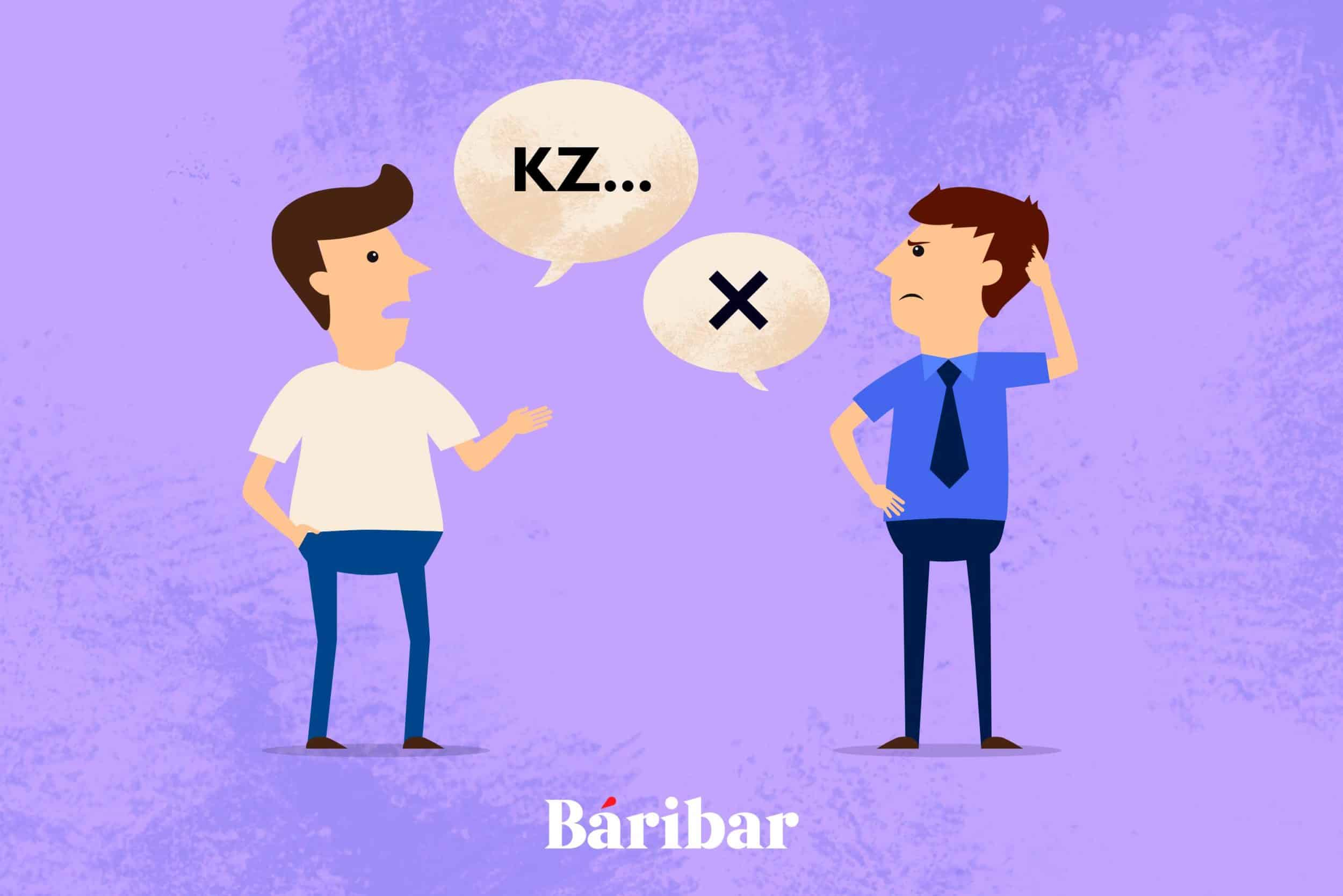 Қазақ тілі, әңгіме