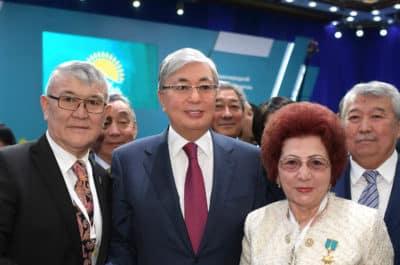 Қасым-Жомарт Тоқаев Nur Otan партиясының кезектен тыс XIX съезінде
